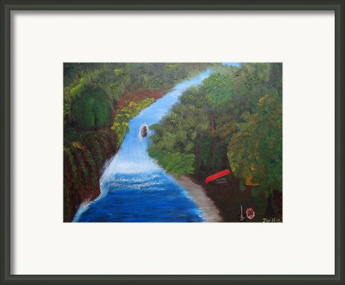 Waterfall Campsite Framed Print By James Nelson