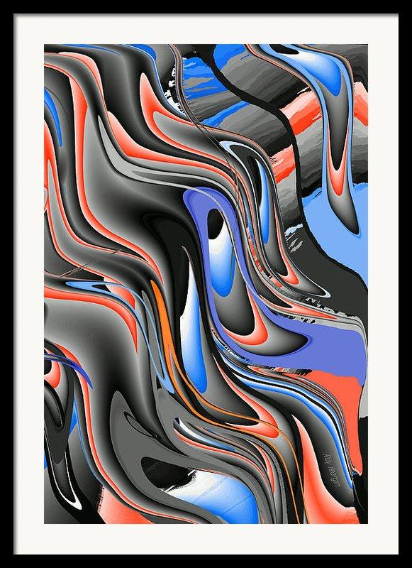 Waterfall Framed Print By Ray Yeargin