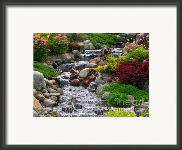 Waterfall Framed Print By Tom Prendergast