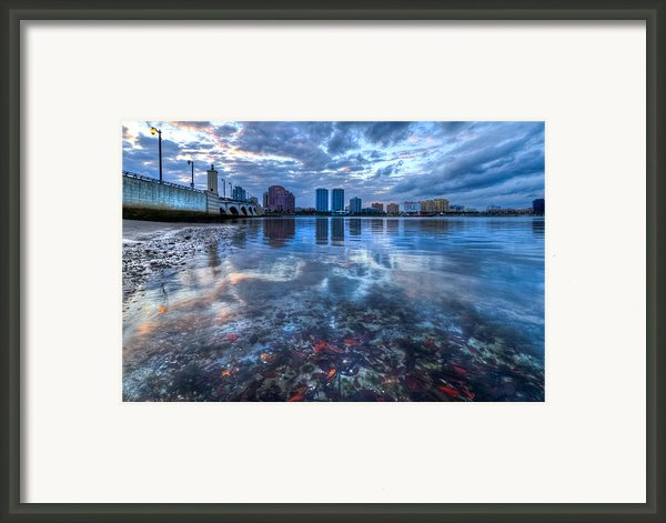 Watery Treasure Framed Print By Debra And Dave Vanderlaan