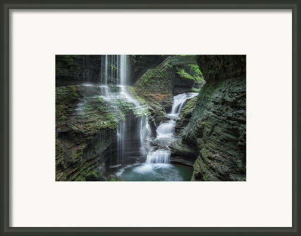Watkins Glen Framed Print By Bill  Wakeley