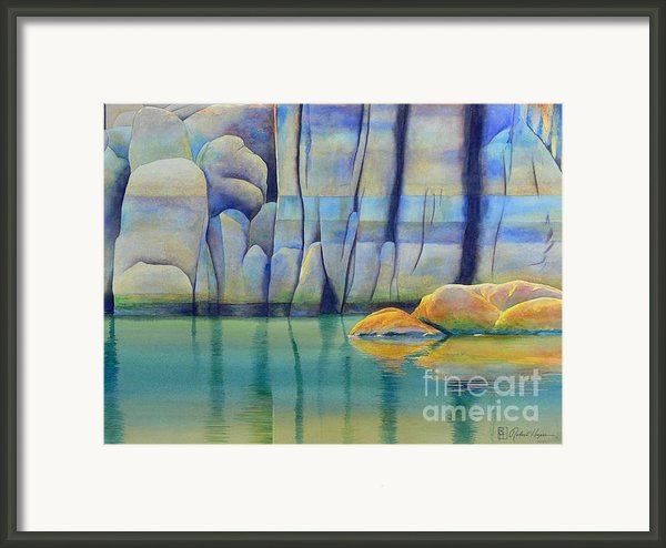 Watson Rocks Framed Print By Robert Hooper