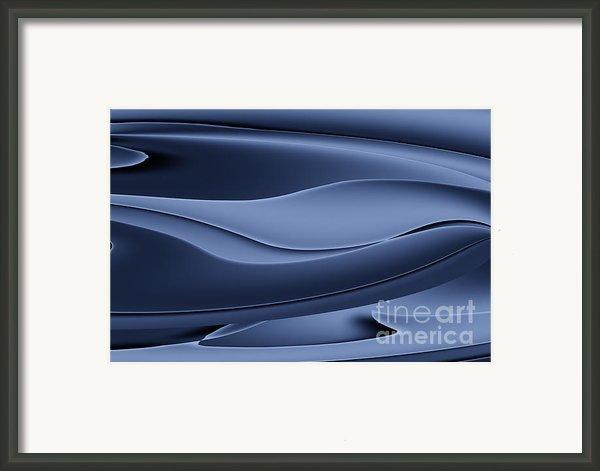 Wave Art Vi Framed Print By Ludek Sagi Lukac
