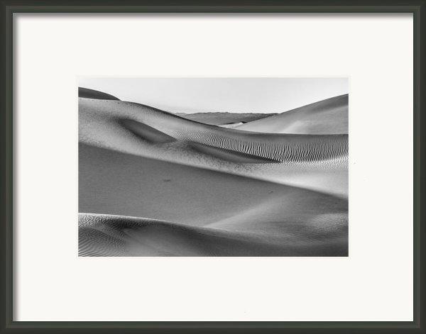 Waves Of Sand Iii Framed Print By Jon Glaser