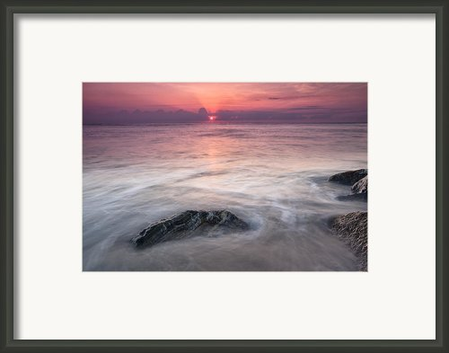 Wavy Day Framed Print By Jon Glaser