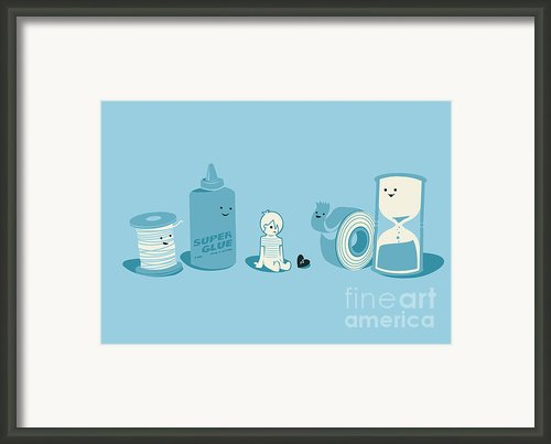 We Can Fix It Framed Print By Budi Satria Kwan