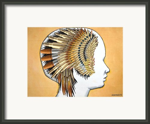 We Dream Of Systems So Perfect That No One Needs To Be Good Framed Print By Paulo Zerbato