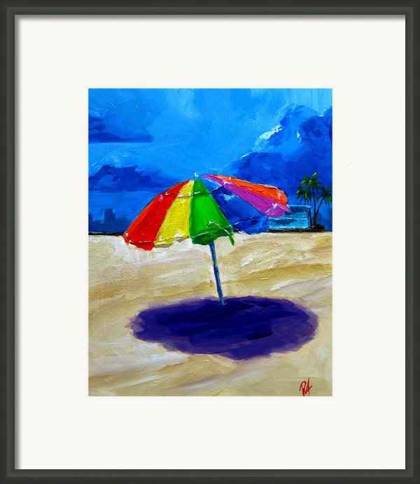 We Left The Umbrella Under The Storm Framed Print By Patricia Awapara