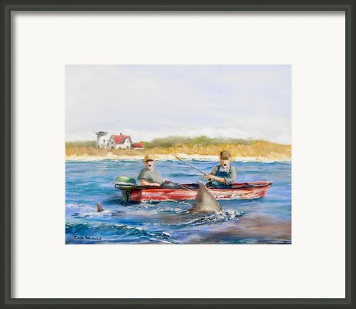We Need A Biggah Boat Framed Print By Jack Skinner