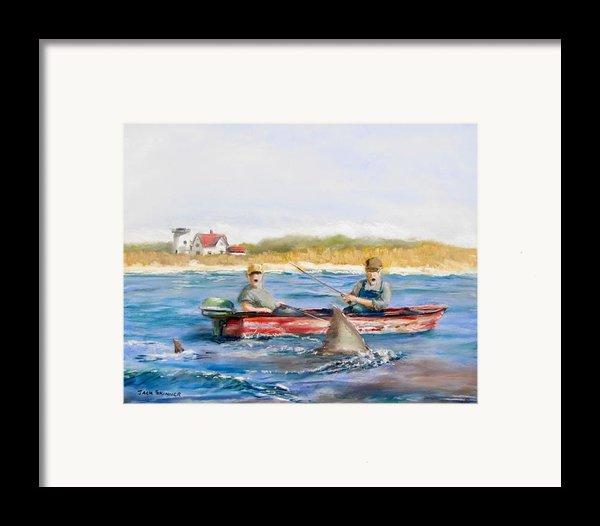 We Need A Biggah Boat Framed Print By Jack Skinner