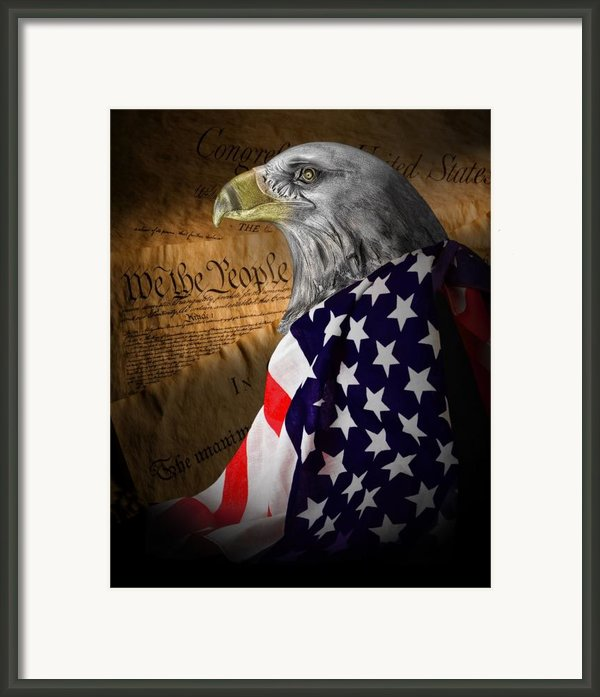 We The People Framed Print By Tom Mc Nemar