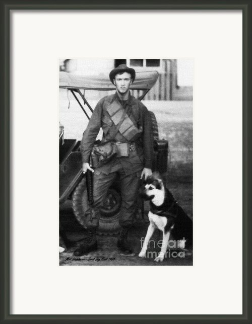 We Were Soldiers Framed Print By Mel Steinhauer