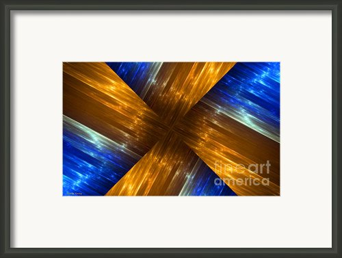 Weave Framed Print By Cheryl Young