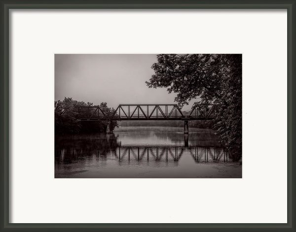 Wednesday Morning Fog Framed Print By Bob Orsillo