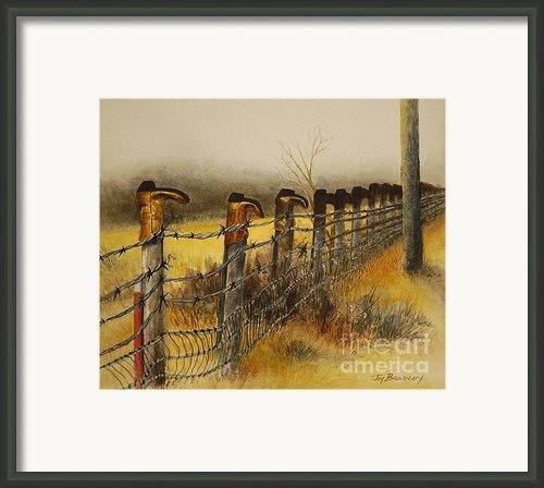 Welcome Framed Print By Joy Bradley                   Dinardo Designs