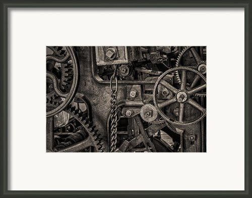 Welcome To The Machine Framed Print By Erik Brede