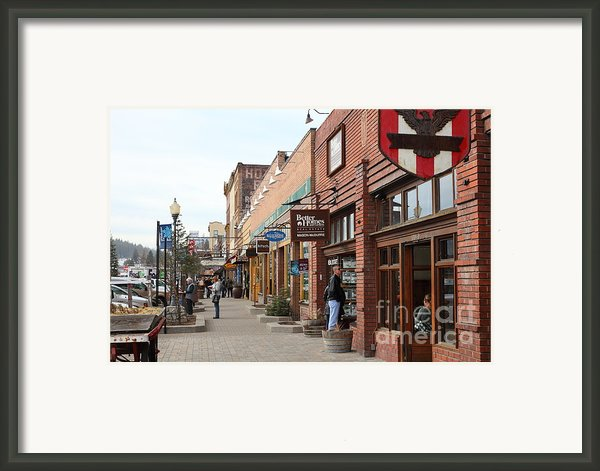 Welcome To Truckee California 5d27445 Framed Print By Wingsdomain Art And Photography