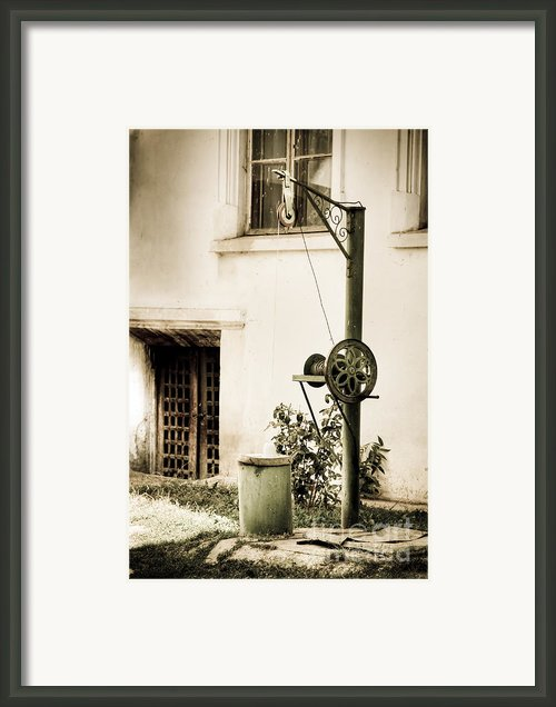 Well Framed Print By Gabriela Insuratelu