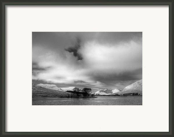 Wester Ross Winter  Framed Print By Derek Beattie