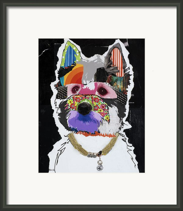 Westie West Highland Terrier  Framed Print By Michel  Keck
