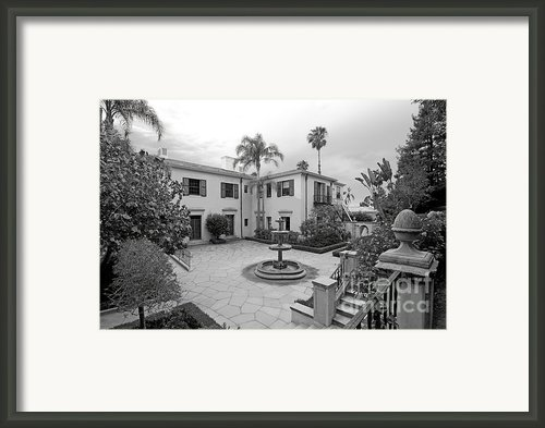Westmont College Courtyard Framed Print By University Icons