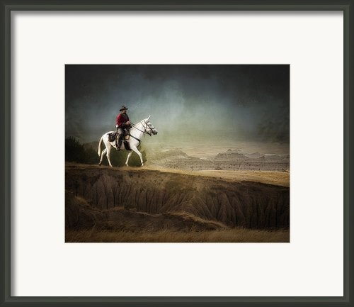 Westward Framed Print By Ron  Mcginnis