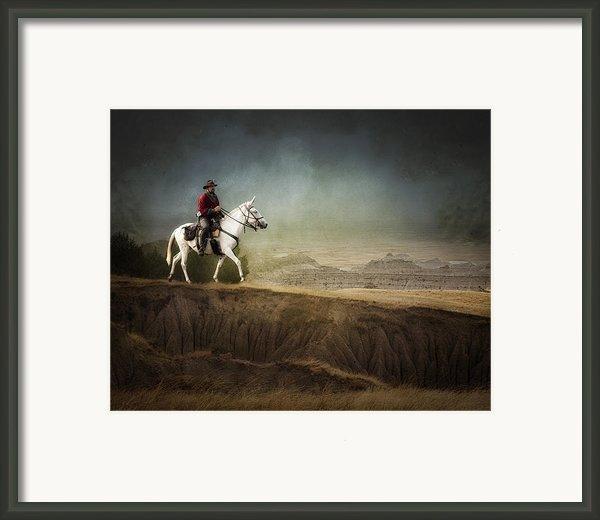 Westward Framed Print By Ron  Mcginnis