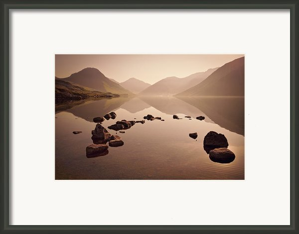 Wetlands Mornings Framed Print By Evelina Kremsdorf