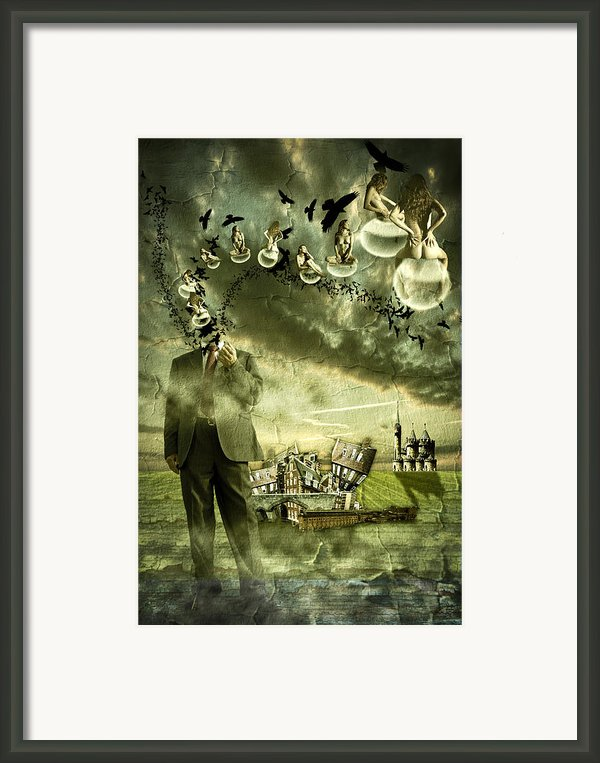 What Are You Thinking Framed Print By Nathan Wright