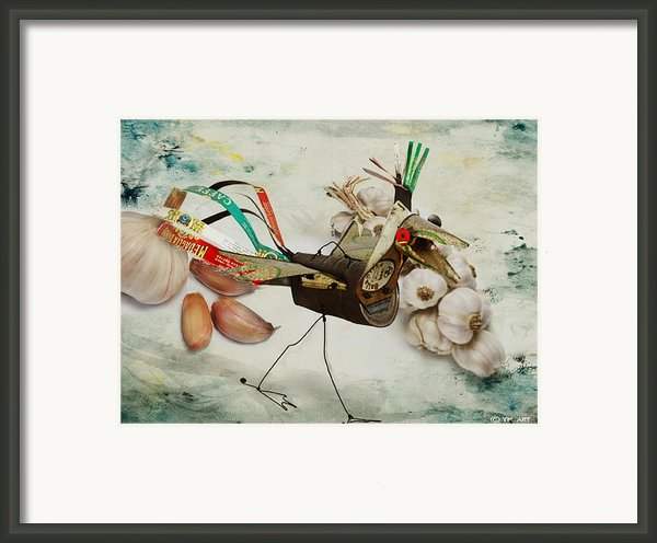 What Nature Delivers - Those Are Not My Eggs  Framed Print By Yvon -aka- Yanieck  Mariani