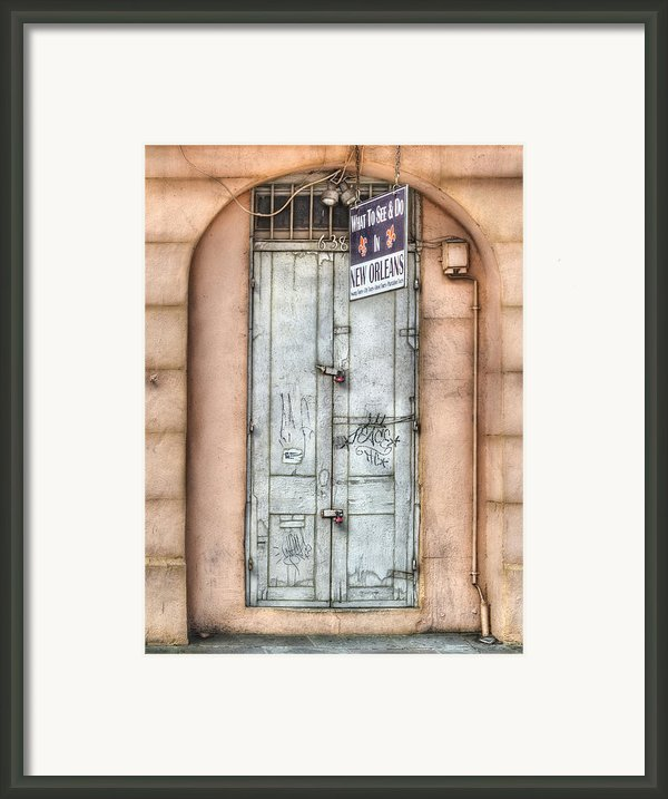 What To See And Do In New Orleans Framed Print By Brenda Bryant