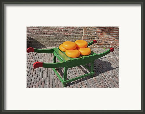 Wheels Of Dutch Gouda Cheese Framed Print By Artur Bogacki