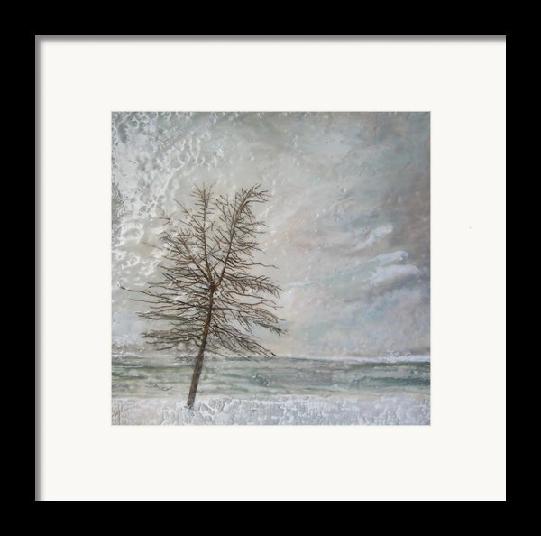 When Grey Matters Framed Print By Victoria Primicias