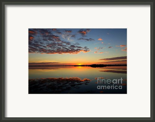 When Heaven Blankets The Earth Framed Print By Karen Wiles
