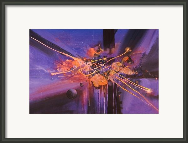 When Planets Align Framed Print By Tom Shropshire