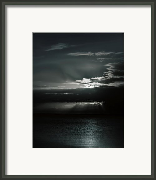 When The Sun Goes Down... Framed Print By Mario Celzner