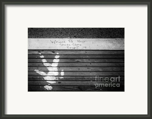 Where Do They Come From? Framed Print By John Farnan