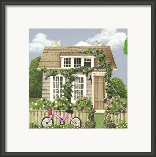 Whitby Cottage Framed Print By Catherine Holman