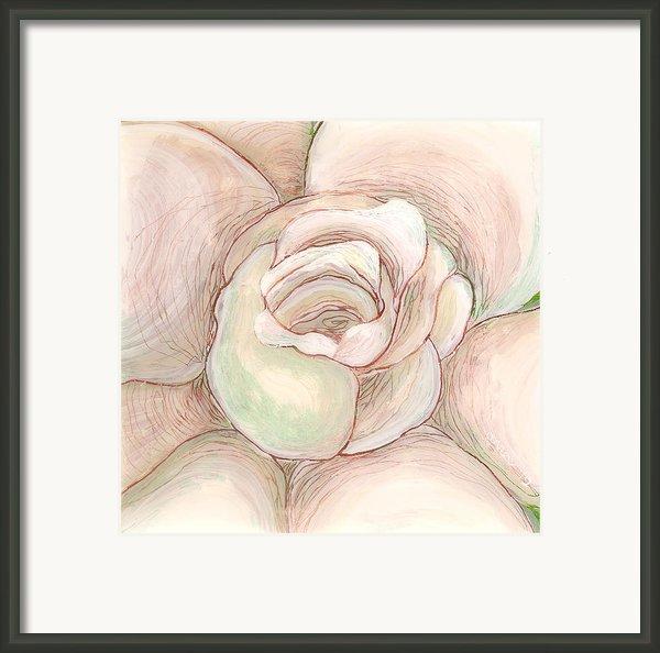 White Gardenia 2 Framed Print By Anna Skaradzinska