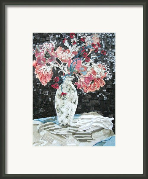 White Glove Framed Print By Diane Fine