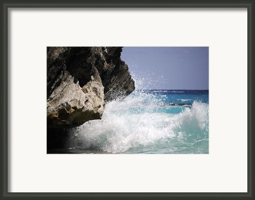 White Water Paradise Framed Print By Luke Moore