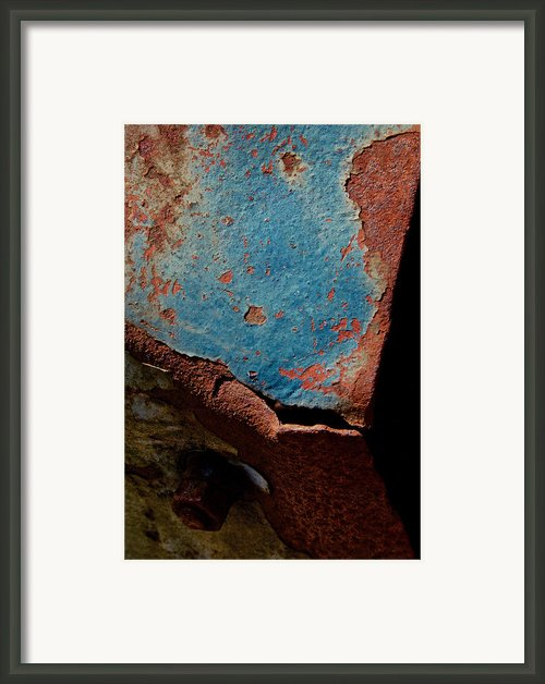 Whole Wide World Framed Print By Odd Jeppesen