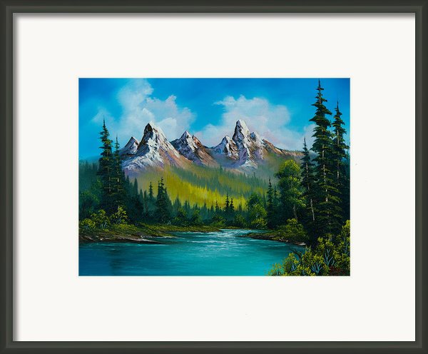 Wild Country  Framed Print By C Steele