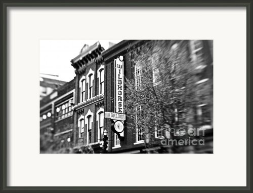 Wildhorse Saloon Framed Print By Scott Pellegrin