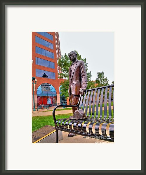William Joseph Seymour Statue Framed Print By Jfantasma Photography