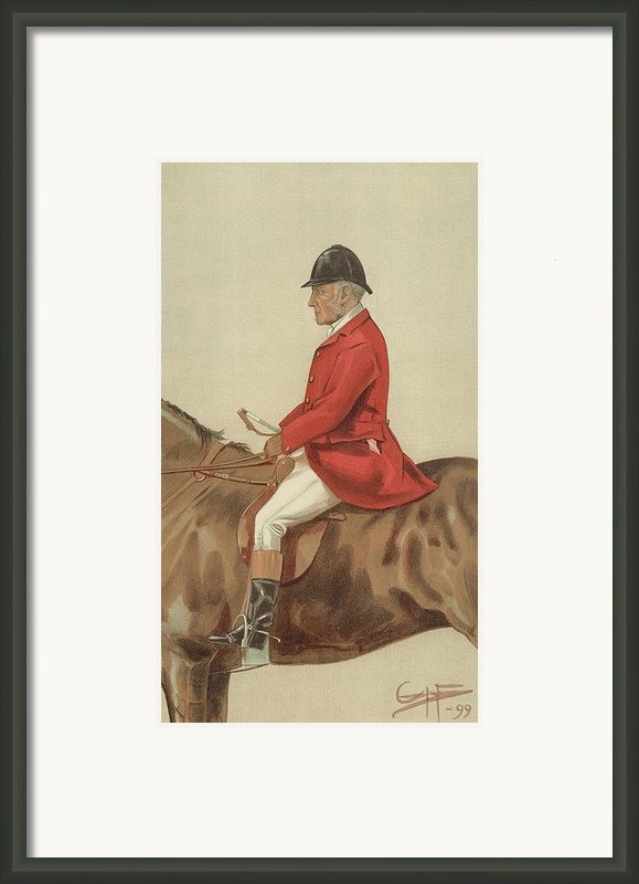 William Ward Tailby Framed Print By Sir Samuel Luke Fildes