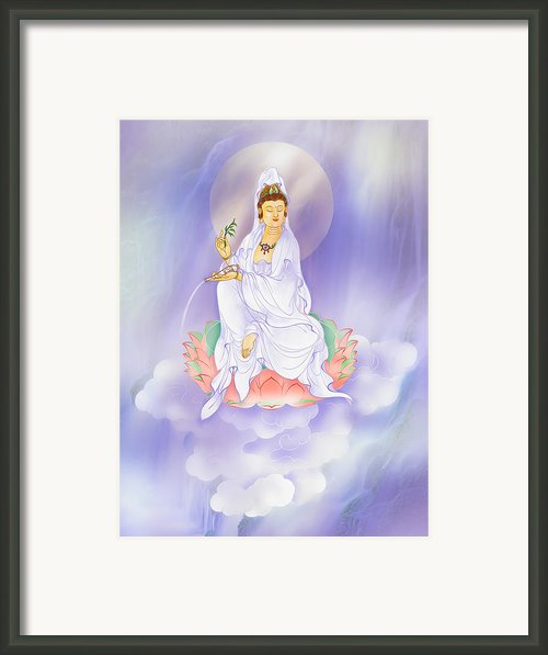 Willow Avalokitesvara Framed Print By Lanjee Chee