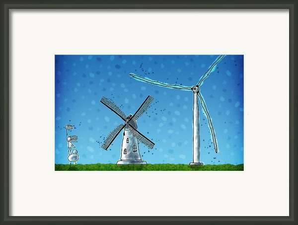 Wind Blows Framed Print By Sanely Great