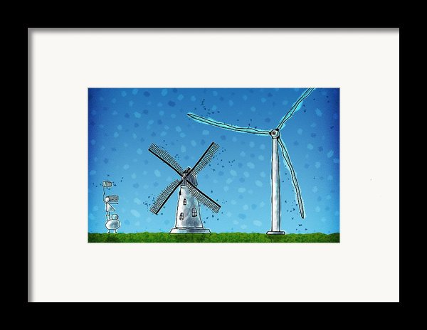 Wind Blows Framed Print By Gianfranco Weiss