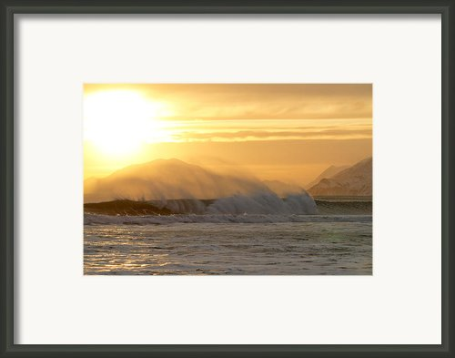 Wind Shear Framed Print By Tim Grams